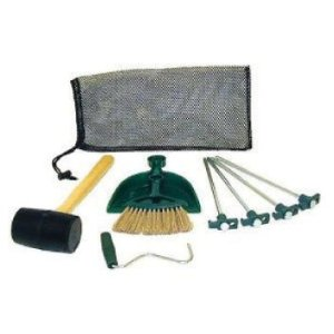 Tent Camping Stakes and Mallet Kit