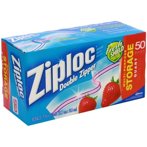 Camping Ziploc Storage Bags