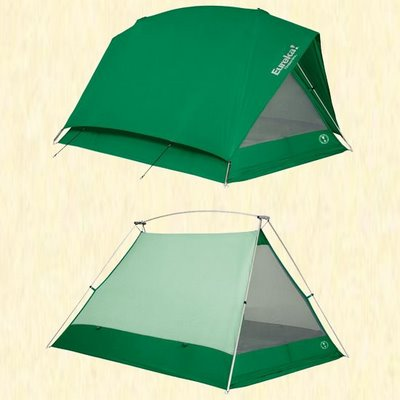 Wedge-Tent with rain fly