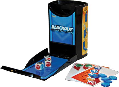 Black-Out Camping Card Game