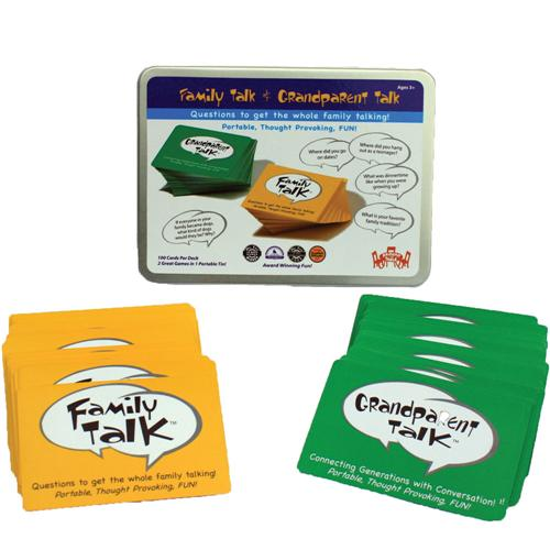 Family Talk Camping Card Game