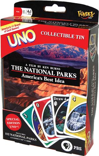 National Parks Uno Game