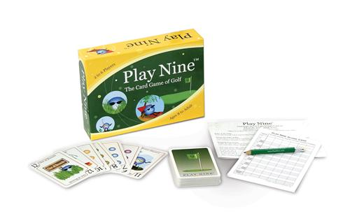 Play-Nine Camping Card Game