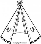 camp teepee camping activities for kids