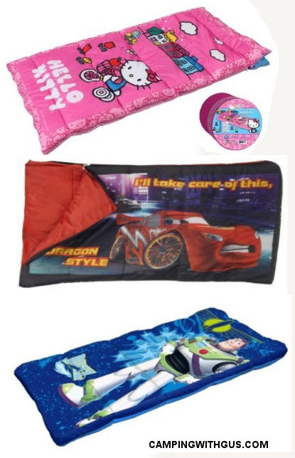 Disney themed Kid's Sleeping Bags