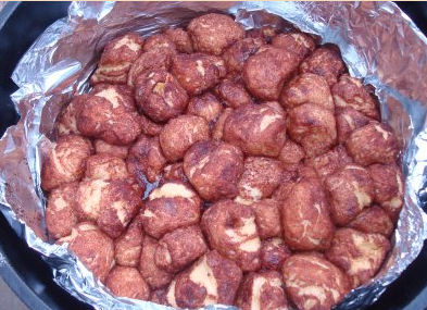 CampingwithGus.com monkey bread camping recipes for kids