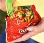 Tacos in a Bag Camping with kids recipe