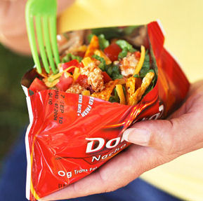 taco in a bag camping recipe for kids