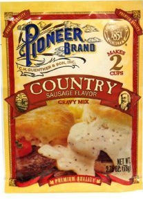 Pioneer Country Sausage Gravy Package