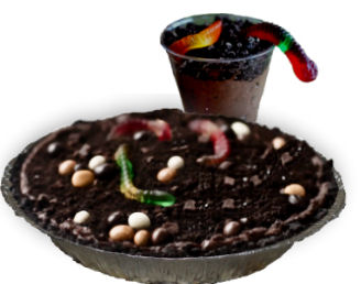 dirt and worm pie camping treat recipes