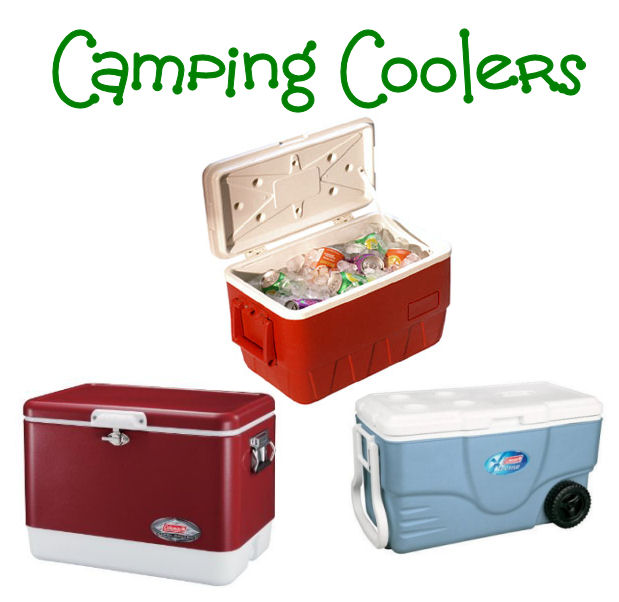 camping ice chests and coolers