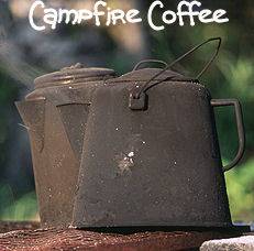 Old Teakettle and Camp Coffee Pot