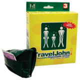 Travel John Disposable Resealable Urinals