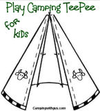 CampingwithGus.com Camping Teepee camping activities for kids