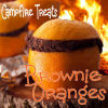 Brownie Oranges - Campfire Dessert Treat