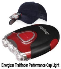 Energizer Performance TrailFinder Hat Light