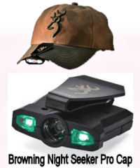 Browning Night Seeker Pro LED hat Light
