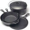 camping cast iron cookware