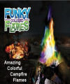 Mystical Colorful Campfire Flames