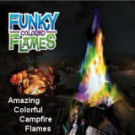 Funky Colored Campfire Flames
