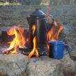 CampingwithGus.com Old Campfire Coffee Pot