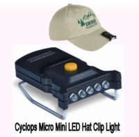Cyclops Micro Mini LED Hat Clip Light