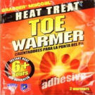 Toe warmers for camping