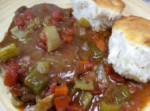 swiss steak camp dinner meal