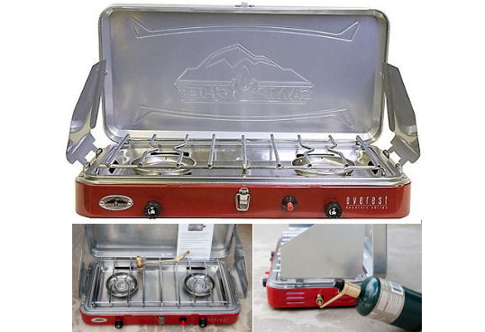 Camp Chef Everest 2-burner Propane Camping stove