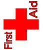 first aid red cross sign
