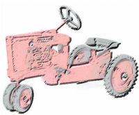 kid's 3-wheel tractor