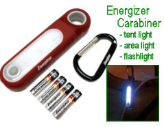 Energizer Carabiner LED camping tent lights