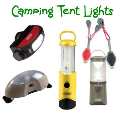 LED camping tent lights