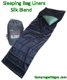 silk blend sleeping bag liners