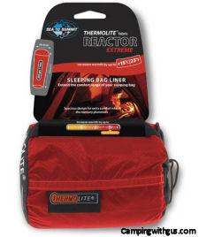 Thermolite insulating sleeping bag liner