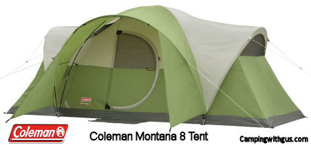 Coleman Montana 8 Family Camping Tent