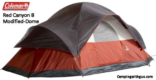 Coleman Red Canyon 8 Family Camping Tent