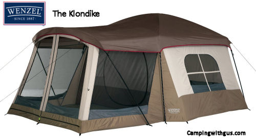 Wenzel Klondike Family Camping Tent