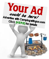 Campingwithgus.com advertising ad