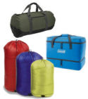 Camping Duffel Bags and Stuff Sacks