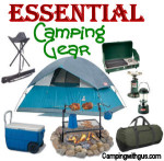 camping gear for campsite