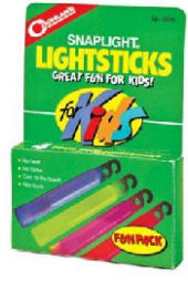 Camping Kids Glow Sticks