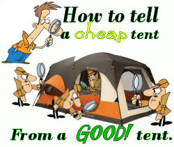 Good camping Tent features