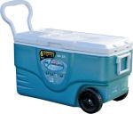 Camp cooler handles
