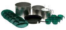 camping pots and pans set