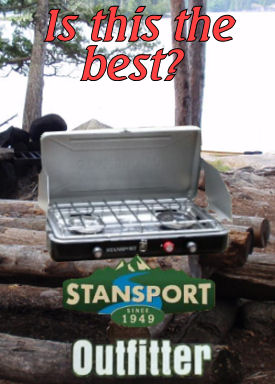 CAMP CHEF EVEREST 2-BURNER CAMP STOVE - BEST PROPANE.