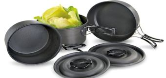 camping pots and pans cookware
