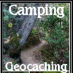 camping trip geocaching