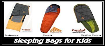 kids camping sleeping bags