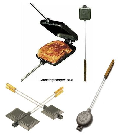Pie Iron for Campfire Cooking